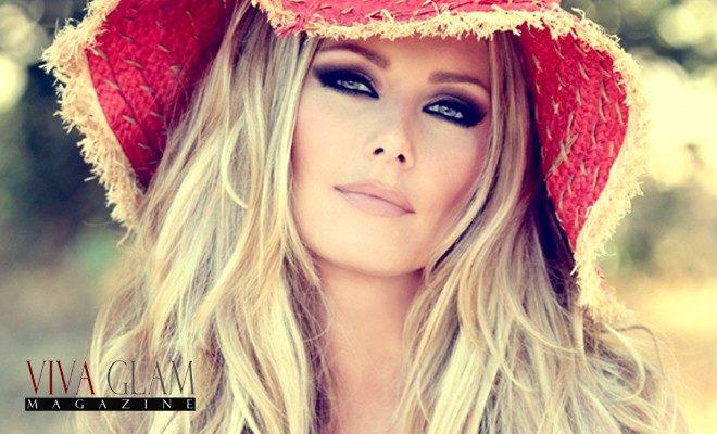Glamour makeup
