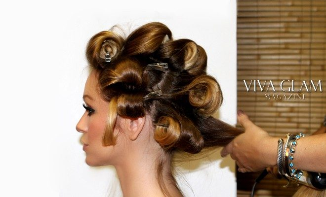 Pin curls with curling iron viva glam magazine urmus Gallery