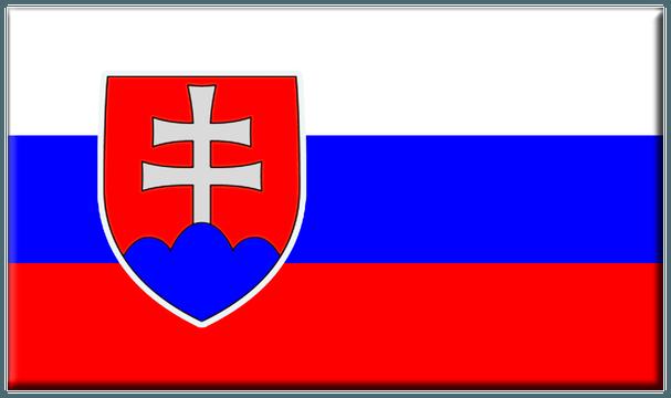 Nalepka Lamin Slovenska Vlajka 26 X 38mm 1763 Viva Glam