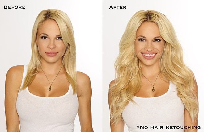 Cashmere hair voted best hair extensions viva glam magazine before after dani text pmusecretfo Gallery