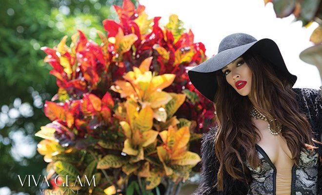 PAMELA FRANCESCA PERUVIAN VIVA GLAM SUPERMODEL MAGAZINE CASHMERE HAIR HAT