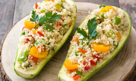 vegan-meal-cous-cous-avocado-veggies-delicious-vegan-food