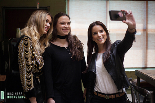 katarina van derham business rockstars interview behind the scenes balmain top h&m collection viva glam magazine