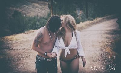 katarina van derham deja jordan naked nude sexy kiss swimsuit bikini viva glam magazine cashmere hair