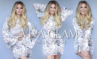 katarina van derham goddess sexy nude bombshell how to be viva glam magazine zara dress deja jordan cashmere hair