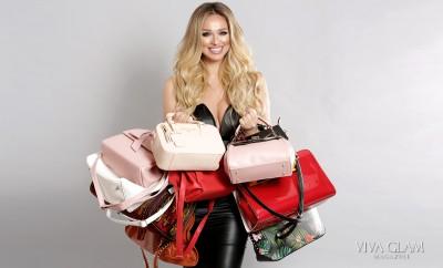 katarina van derham vegan handbags viva glam magazine cashmere hair