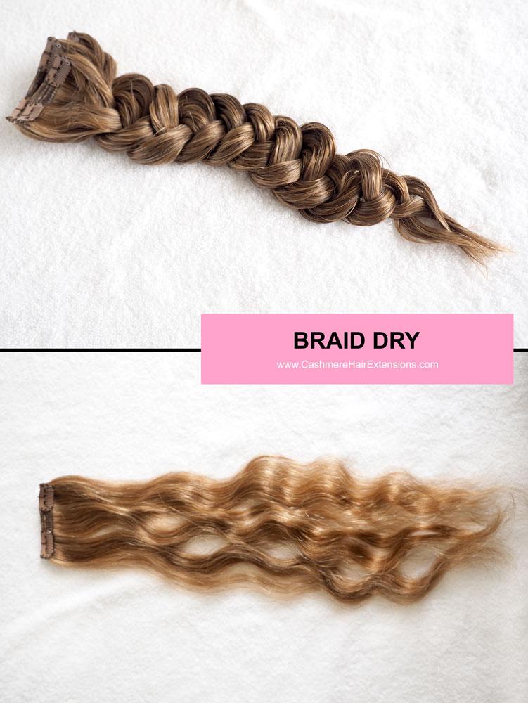 5 Ways To Air Dry Hair Extensions Viva Glam Magazine Braid Dry
