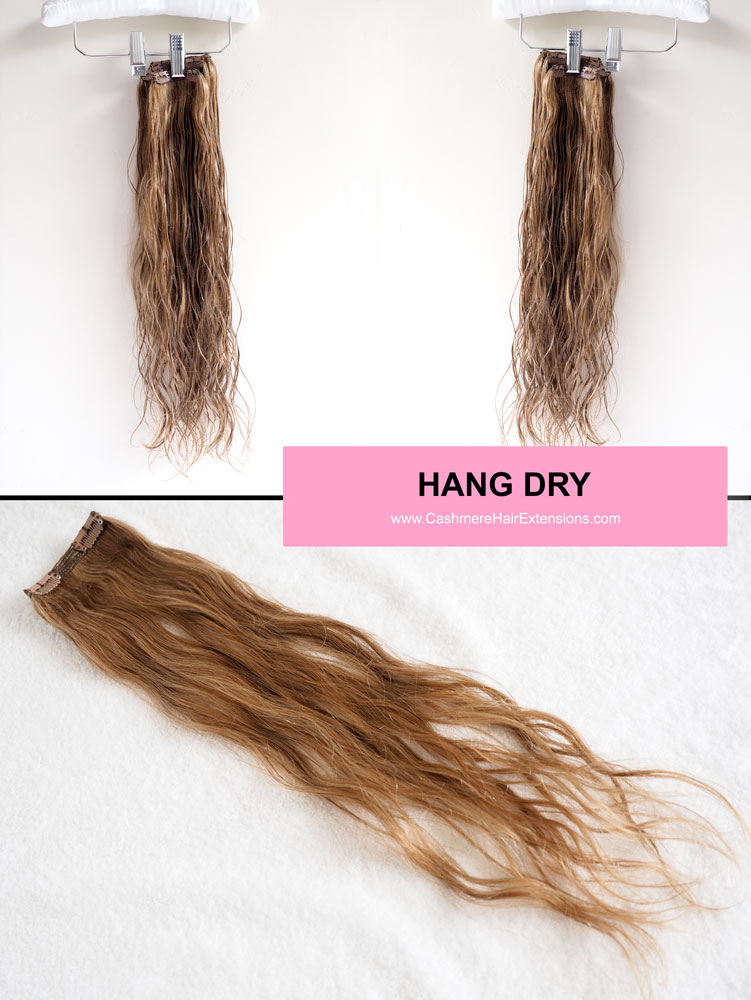 5 Ways To Air Dry Hair Extensions Viva Glam Magazine Hang Dry