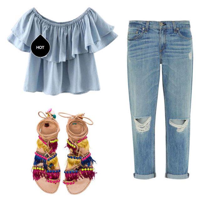 Boyfriend Jeans vs. Girlfriend Jeans & How to Style Them - VIVA ...