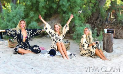 anna katarina, kimberly cozzens, jesse golden-Kona Hawaii photoshoot viva glam magazine sexiest issue