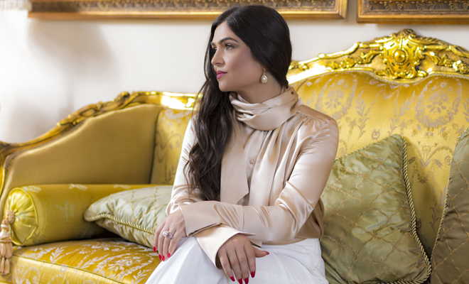 from-social-work-to-fashion-ionica-moldovianu-inspires-us-viva-glam-magazine-ionica-moldovianu-fashion-line-clothing-style-gold-blouse-white-pant