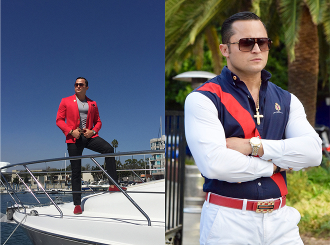 mr-hollywood-oskar-rivera-productions-porto-blanco-usa-fashion-high-class-style-red-suit-jacket-boat-marina-del-rey-marcos-and-rade-marcosandrade