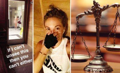 Dani Mathers justice symbol
