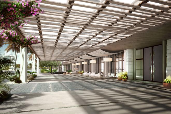 Eco Luxury Miami 1 Hotel South Beach entrance