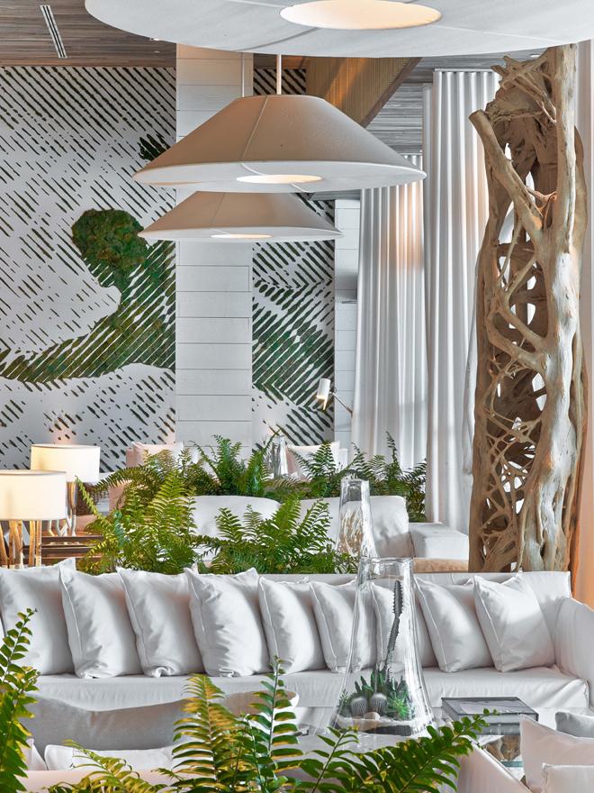 Eco Luxury Miami 1 Hotel South Beach Lobby