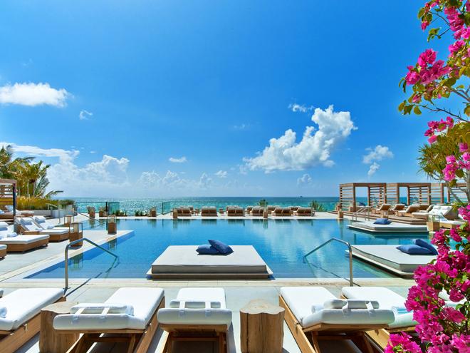 Eco Luxury Miami 1 Hotel South Beach Main pool