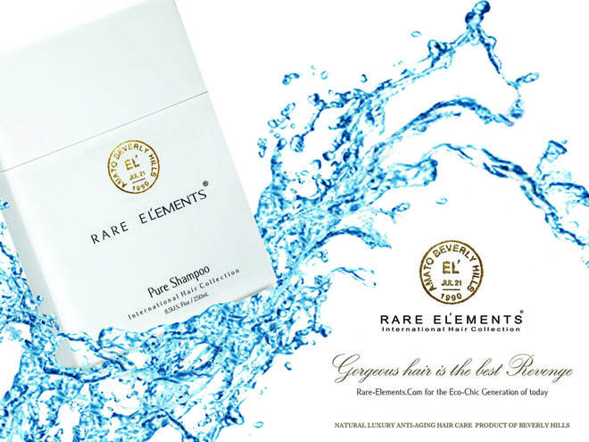 cruelty free hair care product Rare Elements El'ements