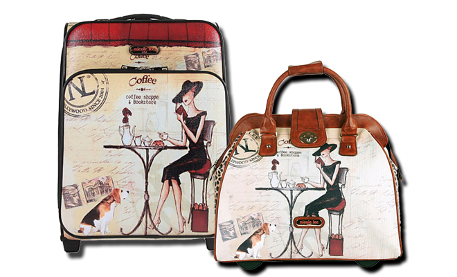Stylish Suitcases Luggage And Travel Bags