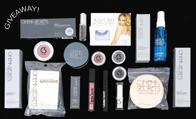 cinema secrets cosmetics giveaway