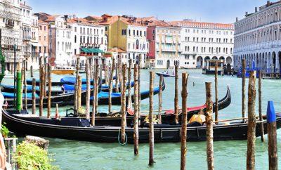 European Places venice venezia italy gondolas