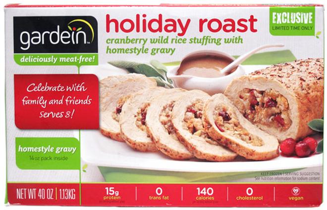 meat alternatives vegan gardein holiday roast xl