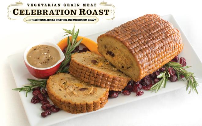 meat alternatives vegan celebration roast