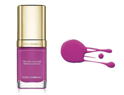 nail colors dolce & gabbana in passione 235