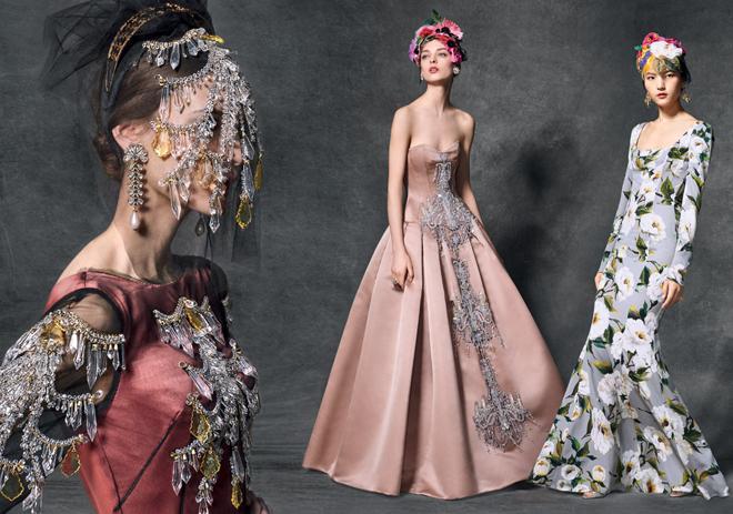 feminine fashion dolce and gabbana