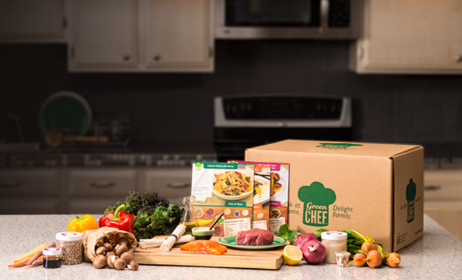 subscription boxes Green Chef
