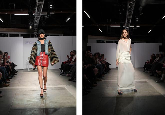 Vegan Fashion Peta Show runway models copyright Peta