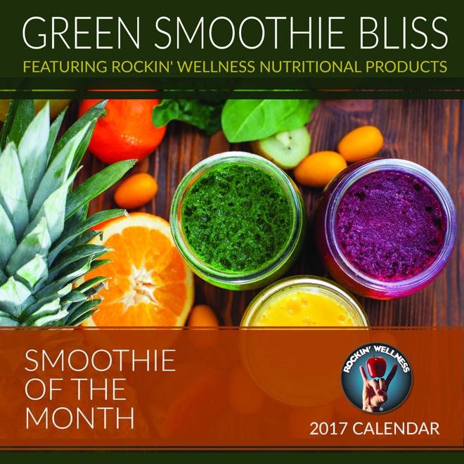 desk calendars 2017 green smoothie bliss