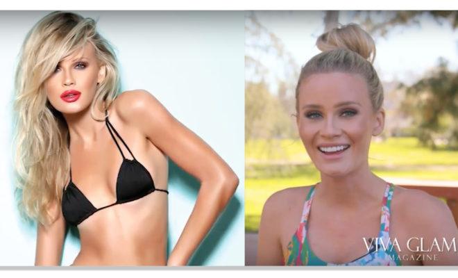 Liv Jaeger VIVA GLMA Magazine supermodel personal fitness trainer