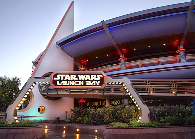 Star Wars Launch Bay Disneyland park Paul Hiffmeyer/Disneyland Resort