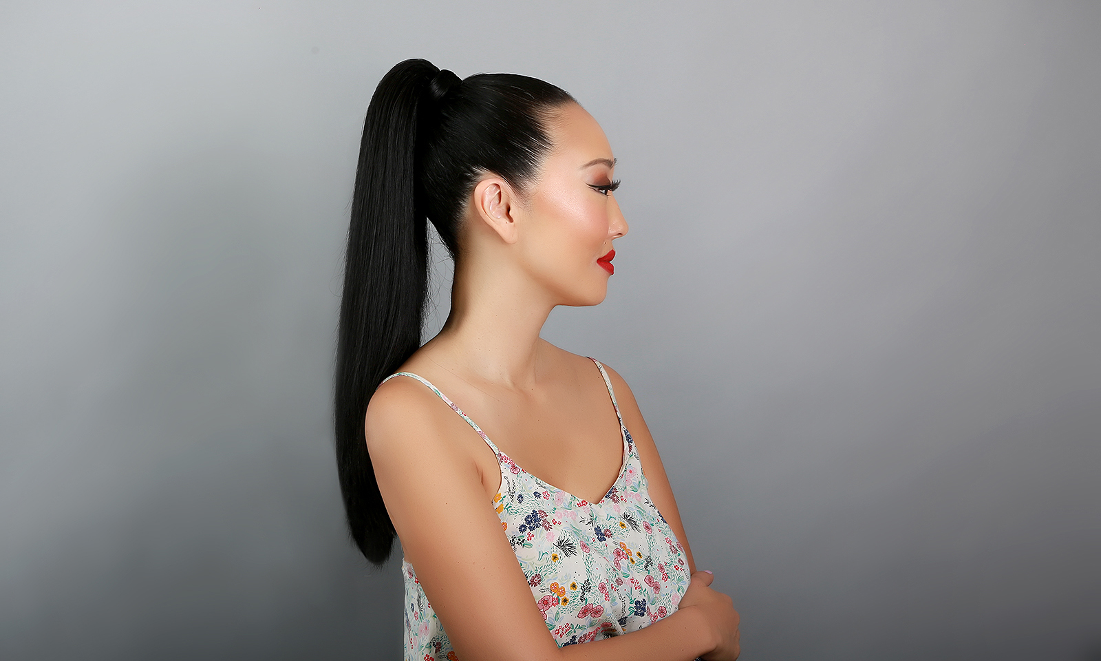 Candace-Kita-High-Ponytail-Yaniv-Katzav-VGM, Get the Khloe Kardashian-Inspired High Ponytail!