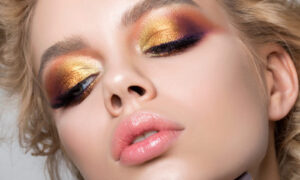 shutter-stock-woman-makeup-shimmer, Glitter, Shimmer, and Holographic Products to Lust Over