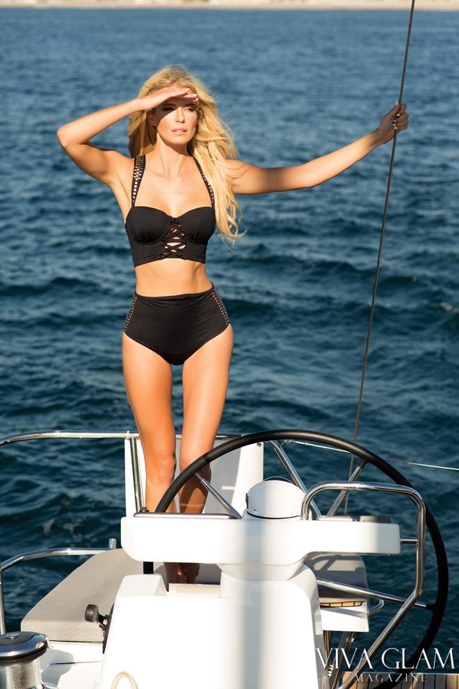 Top 20 Sexiest-2017-Nikki-Sharp-Sauvage-Swimwear-yacht-ahoy, Photographer Sarah Orbanic Makeup Hair Angelica Curiel, Marina del Rey, Cruising Yachts