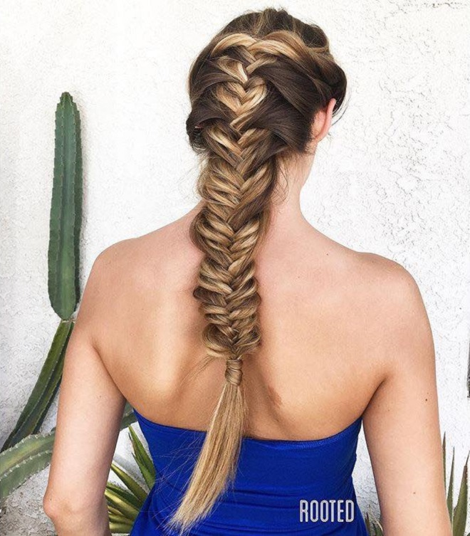 21 French Braid Hairstyles that are Tre's Flawless side French Fishtail braid