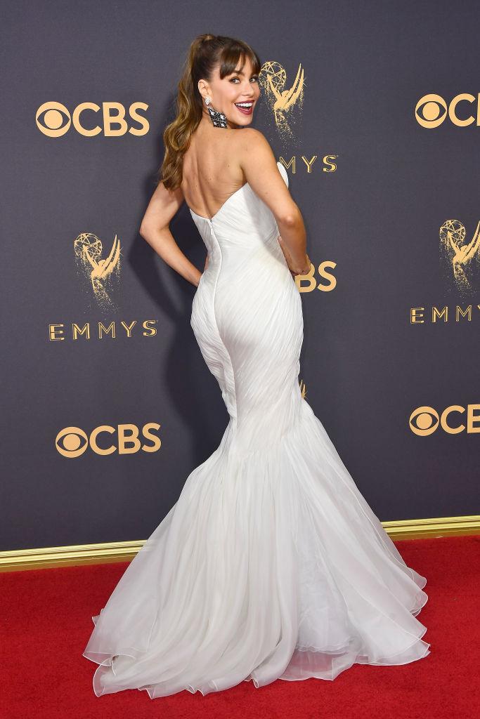 sofia vergara white dress
