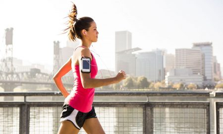 woman running WATCH- 8 Tricks to Help You Run Faster main image