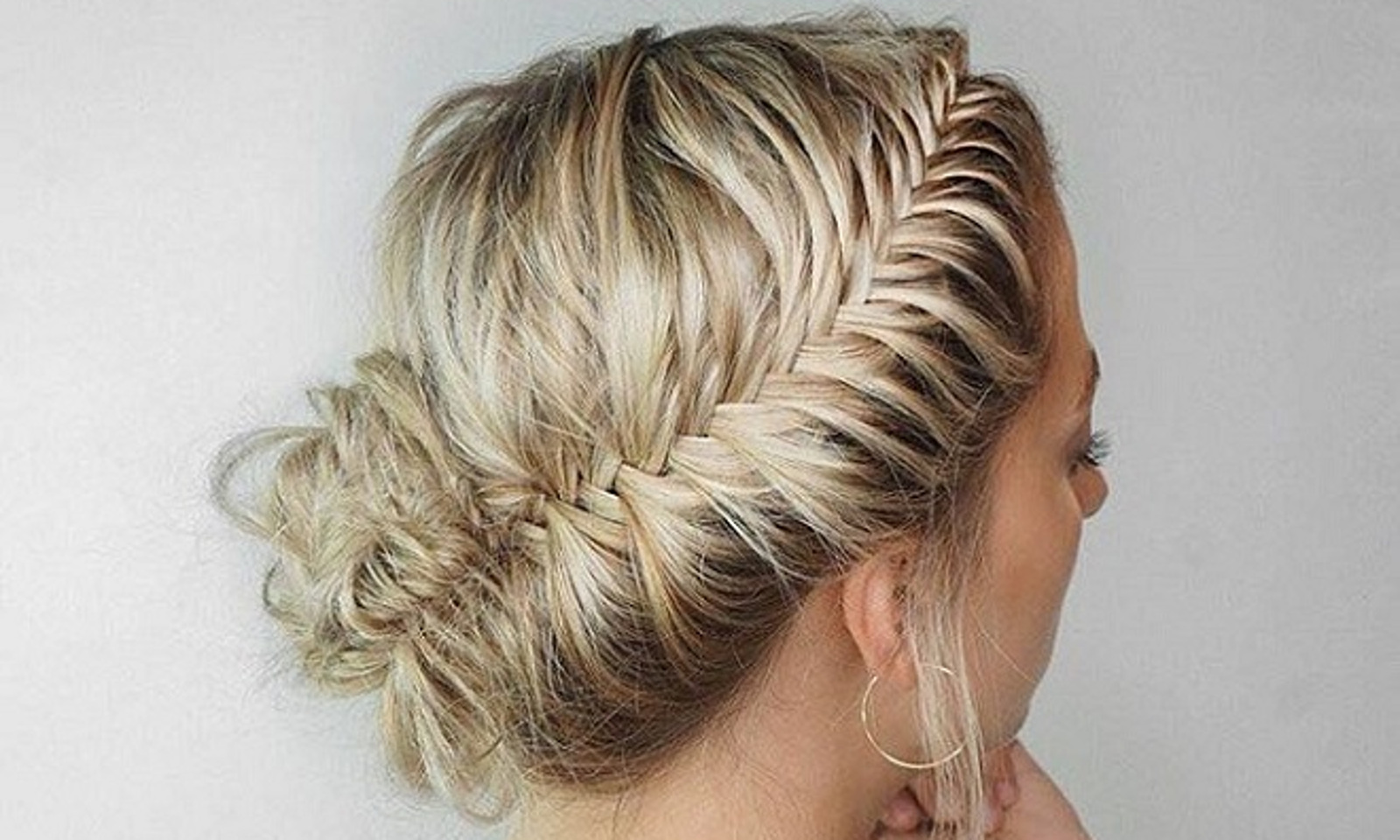 how to fish plait hair