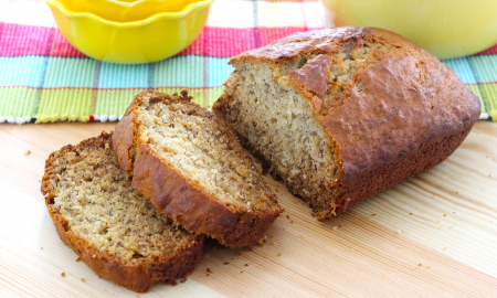 bread sliced How to Make Vegan Banana Bread main image