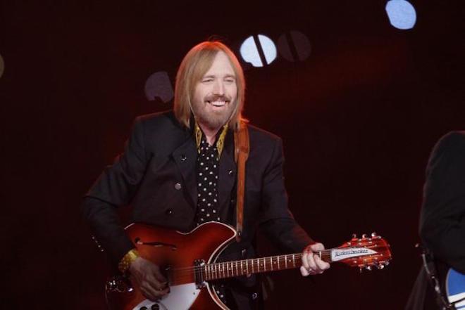 tom petty smiling