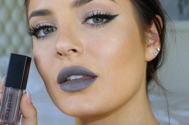 Dark Smoky Eye And Grey Lip Make-up Tutorial