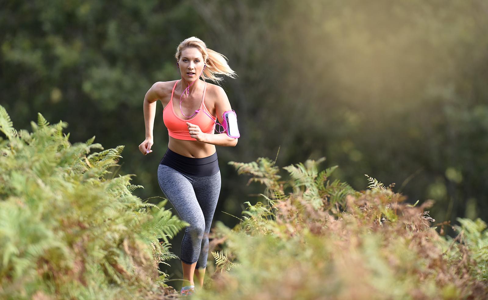beautiful-woman-running-outside-towards-the-camera