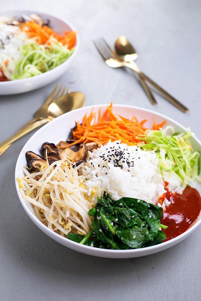 22 Vegan Recipes to Enhance with Gochujang VEGAN KOREAN BIBIMBAP
