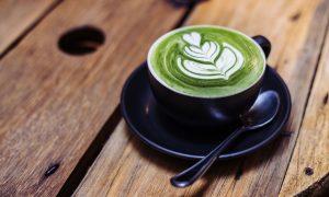 matcha green tea, latte