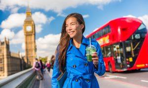 green drink, london, travel, england, asian