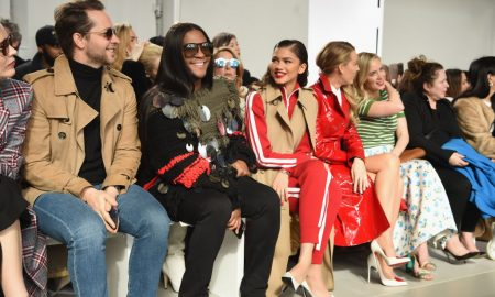 runway, celebrity, celebrities, front row, fashion week, NYFW