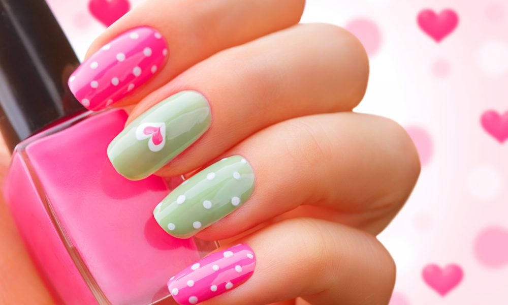Make Your Inner Party Animal Smile With These Polka Dot Nail Designs