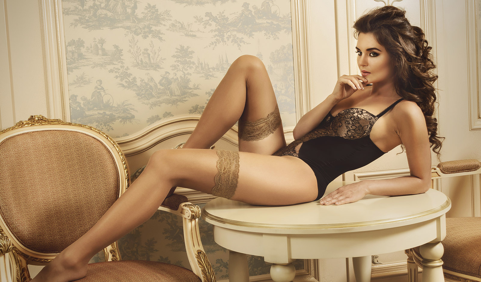 woman-laying-back-in-lingerie